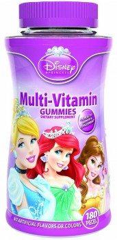Disney Princess Multi Vitamin Gummies, 180-Count Deal