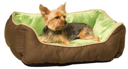 K&H Lounge Sleeper Self-warming Pet Bed, 16-Inch by 20-Inch, Mocha Green Deal