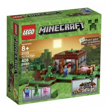 LEGO Minecraft 21115 The First Night Deal