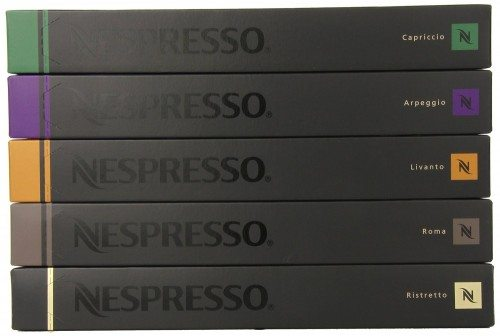 Nespresso Variety Pack Capsules, 50 Count Deal