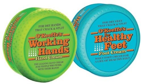 O'Keeffe's K0350015 Working Hands and Healthy Feet Combo Pack Deal