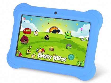 Orbo Jr. 4GB Android 4.1 Five Point Multi Touch Tablet PC - Kids Edition [March 2014] - Blue Deal