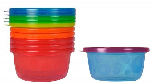 The First Years Take & Toss Toddler Bowls, 8 Ounce, 6 Pack Deal