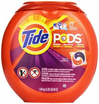 Tide Pods Laundry Detergent Spring Meadow Scent 77 Count Deal