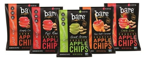 Bare Natural Apple Chips Variety Pack, Gluten Free + Baked, 7 Multi-Serve Bags Deal