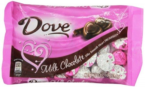 Dove Valentine's Heart Promises, Milk Chocolate, 8.87-Ounce Packages (Pack of 4) Deal