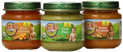 Earth's Best Organic My First Veggies Baby Food Starter Pack, 12 2.5oz Jars Deal