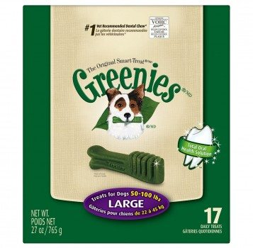 Greenies Canine Dental Chews, Treats For Dogs Deal