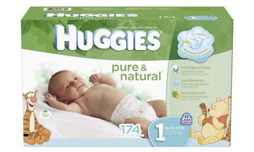 Huggies Pure and Natural Diapers Deal