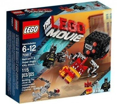 LEGO Movie Batman and Super Angry Kitty Attack Block Deal
