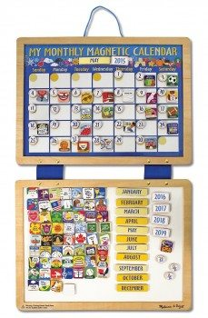 Melissa & Doug Deluxe Magnetic Calendar Deal