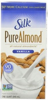 Silk Pure Almond Vanilla, 32-Ounce Deal