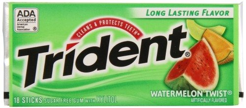 Trident Gum, Watermelon Twist, 18-Count (Pack of 12) Deal
