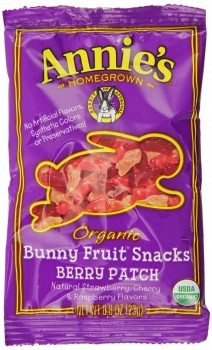 Annie's Berry Patch Organic Fruit Snacks, 18-Count 0.8 oz Pouches Deal