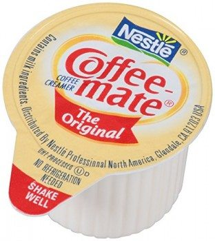 Coffee-mate Coffee Creamer, Original Liquid Singles, 0.375-Ounce Creamers (Pack of 180) Deal