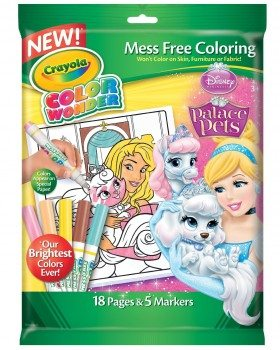 Color Wonder Disney Princess Enchanted Coloring Book and Markers (Style May Very)