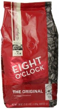 Eight O'Clock The Original Whole Bean Coffee, 36-Ounce Deal