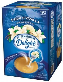 International Delight French Vanilla Liquid Creamer, 192-Count  Deal