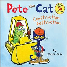 Pete the Cat Construction Destruction Deal