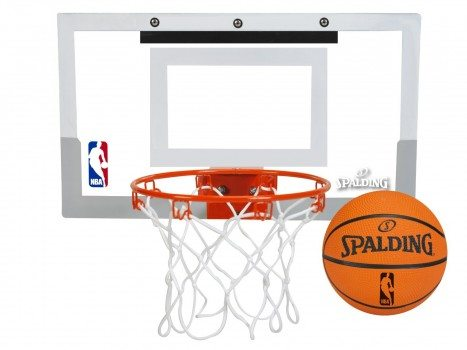 Spalding NBA Slam Jam Over-The-Door Mini Basketball Hoop Deal