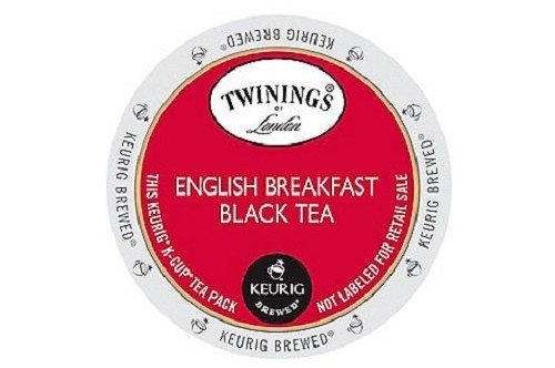 Twinings English Breakfast Tea, K-Cup Portion Count for Keurig K-Cup Brewers, 24-Count Deal