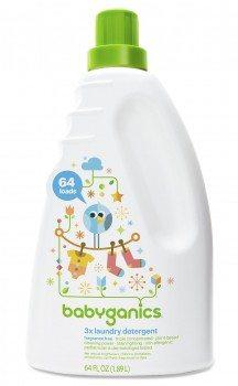 Babyganics 3x Baby Laundry Detergent, Fragrance Free, 64oz Bottle  Deal