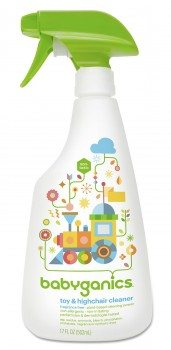 Babyganics Toy & Highchair Cleaner, 17-Fluid Ounce Bottles (Pack of 2) Deal