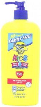 Banana Boat Kids SPF 50 Family Size Sunscreen Lotion, 12-Fluid Ounce Deal