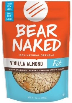 Bear Naked Granola Pouches, Vanilla Almond Fit, 12 Ounce Pouches (Pack of 6) Deal