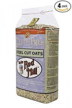 Bob's Red Mill Gluten Free Whole Grain, Steel Cut Oats, 24-Ounce Bags (Pack of 4) Deal