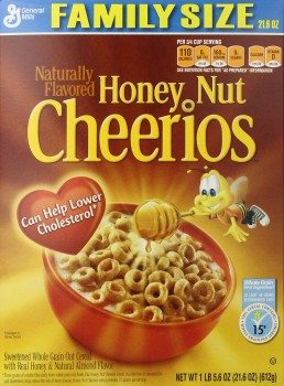 Honey Nut Cheerios Cereal, 21.6 Ounce (Pack of 2)  Deal