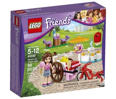 LEGO Friends Olivia's Ice Cream Bike 41030 Building Set  Deal