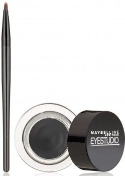Maybelline New York Eye Studio Lasting Drama Gel Eyeliner, Blackest Black, 0.106 oz.  Deal