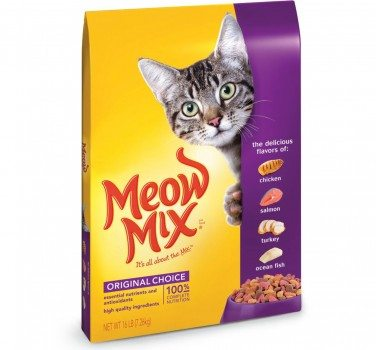Meow Mix Original Choice Dry Cat Food Deal