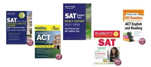 Select Test Prep and Study Guides for SAT, ACT, and SAT Subject Tests Deal