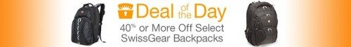 SwissGear Backpacks Deal