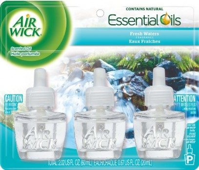 Air Wick Scented Oil Air Freshener, Fresh Waters, 3 Refills, 0.67 Ounce Deal