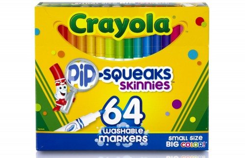 Crayola 64 Ct Washable Markers Deal