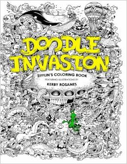 Doodle Invasion Zifflin's Coloring Book Deal
