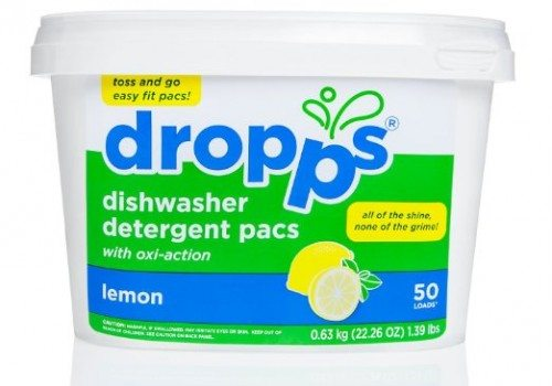 Dropps Dishwasher Detergent Pacs, Lemon, 50 Loads Deal