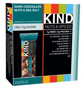 KIND Nuts & Spices Bars (12 count)