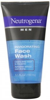 Neutrogena Men Invigorating Face Wash, 5.1 oz. Deal