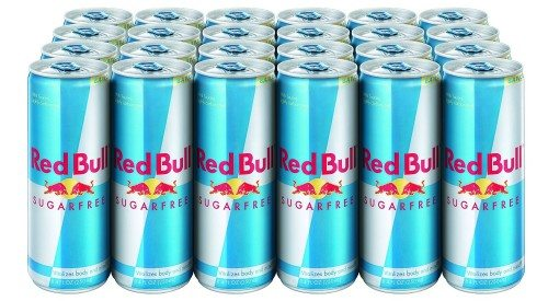 Red Bull Sugarfree, Energy Drink, 8.4-Fluid Ounce Cans, 24 Pack Deal