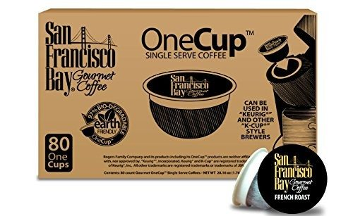 San Francisco Bay OneCup, French Roast, 80 Single Serve Coffees Deal