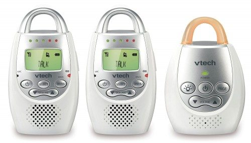 VTech DM221-2 Safe & Sound Digital Audio Baby Monitor with Two Parent Units Deal