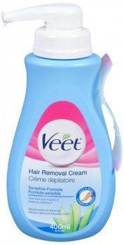 Veet Gel Hair Remover Cream, Sensitive Formula, 13.50 Ounce Deal