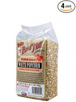 Bob's Red Mill Corn Popcorn, White, 27-Ounce Deal