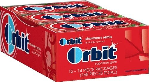 Orbit Gum Remix, Strawberry, 14 Count (Pack of 12) Deal