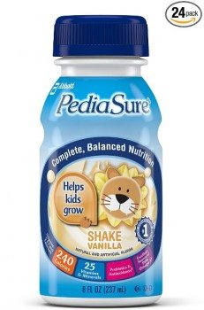 PediaSure Nutrition Drink, Vanilla, 8-Ounce Bottles (Pack of 24) Deal