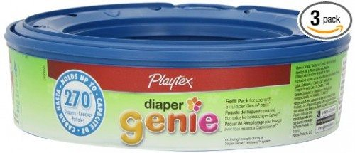 Playtex Diaper Genie Refill, 270 count (pack of 3) Deal